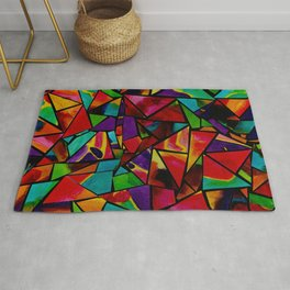 Window to a Colorful Soul Rug