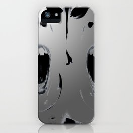 Angst iPhone Case