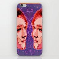 gemini iPhone & iPod Skins featuring Gemini by Steve W Schwartz Art