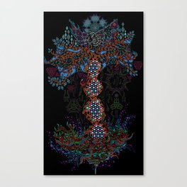 Psychedelic Yggdrasil World Tree of Life Canvas Print