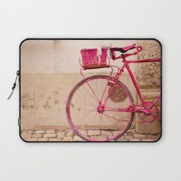 Lady in Pink Laptop Sleeve