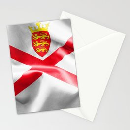 Jersey Flag Stationery Cards