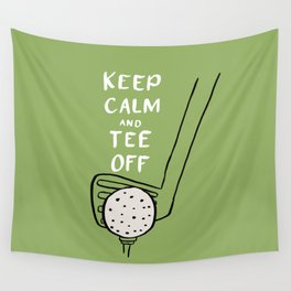 Tee Off Wall Tapestry