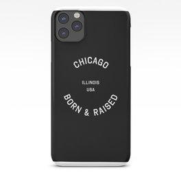 Chicago - IL, USA (Black Badge) iPhone Case