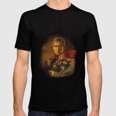 Sir Ian McKellen - replaceface Mens Fitted Tee MEDIUM Black