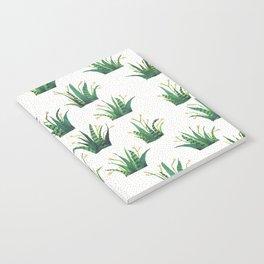 Field of Aloe Notebook