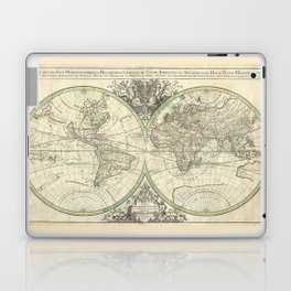 Antique Map from 1691, Sanson Laptop & iPad Skin
