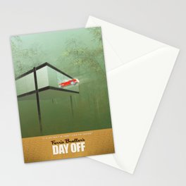 """""""You killed the car"""" - Ferris Bueller's Day Off Stationery Cards"""