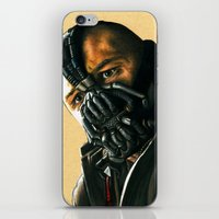 bane iPhone & iPod Skins featuring BANE by csmithart