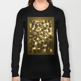 3D What Burns in Your Box? Long Sleeve T-shirt