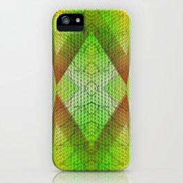 digital texture iPhone Case
