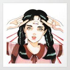 TRII 001 Art Print