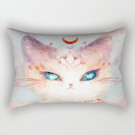 Stargazer Cat : Vision Seeker Rectangular Pillow