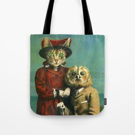 The Owl And The Pussy Cat Tote Bag