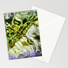 432 - abstract glass design Stationery Cards