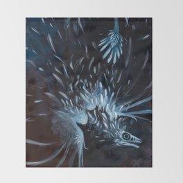 microraptor Throw Blanket