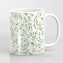 Eucalyptus Leaves Pattern Coffee Mug