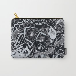 In Black Carry-All Pouch