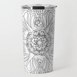 Classic Ceiling Rose Travel Mug