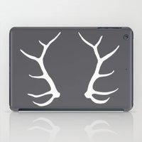 antler iPad Cases featuring Elk Antler by AleDan