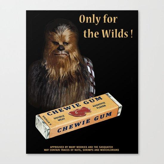 Chewie Gum Canvas Print