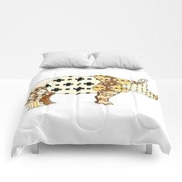 Tribal Rhino Comforters