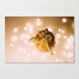 The Golden Pumpkin (Color) Canvas Print