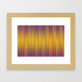 Lines 103 Framed Art Print