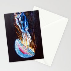 Nebula Jellyfish Stationery Cards