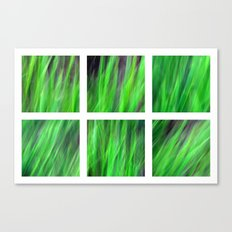 Watching the Grass Grow - Polyptych Canvas Print
