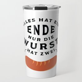 German Sausage Oktoberfest Travel Mug