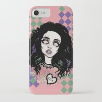 charli xcx iPhone & iPod Cases featuring Nuclear Lover -Charli XCX by Julio César
