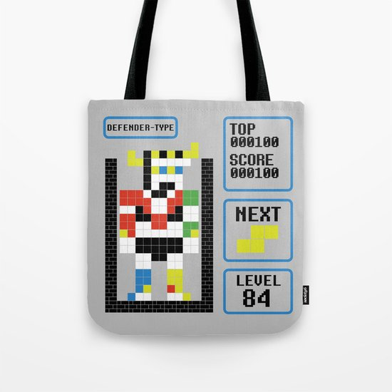 TETRIS: Defender Type Tote Bag