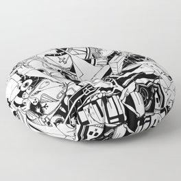 Organismo Meccanico Floor Pillow