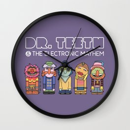 Dr. Teeth & The Electric Mayhem – The Muppets Wall Clock