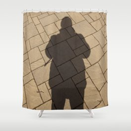 Me in the #park Shower Curtain