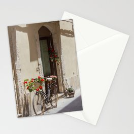Bicycle in Syracuse Stationery Cards