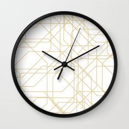 Digital Highways Wall Clock