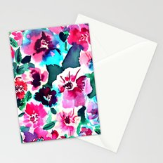 Zoe Floral Pink Stationery Cards