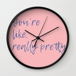 Regina George (Pink) Wall Clock