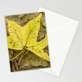 The Yellow Leaf Stationery Cards