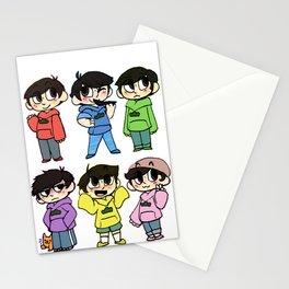 Mr Osomatsu Stationery Cards