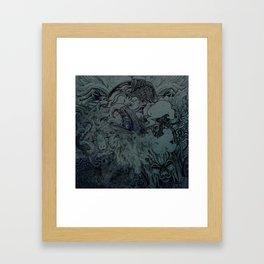 Mix Night Framed Art Print