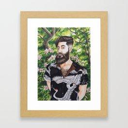 Self Portrait 2017 Framed Art Print
