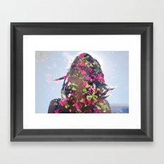 Double Exposure 1 Framed Art Print
