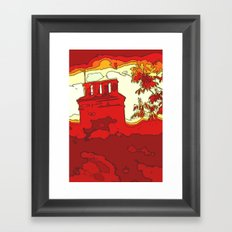 Sizzle Chimney  Framed Art Print