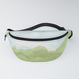 Alpine Views with Flowers Fanny Pack