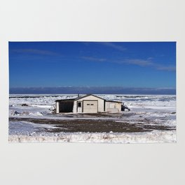 Garage and the Frozen Sea Rug