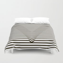 optical illusion Duvet Cover