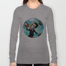 Superheroes SF - For the love of Coffee Long Sleeve T-shirt